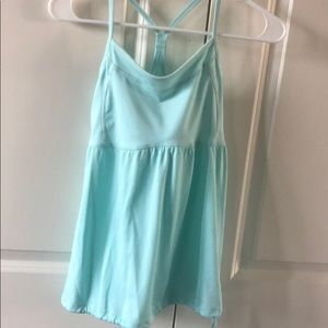 Mint workout tank